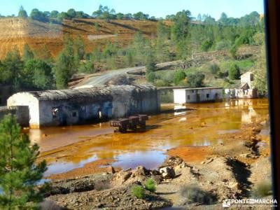 Sierra Aracena-Minas RíoTinto;glosario de senderismo rutas senderismo dehesa boyal san sebastian de